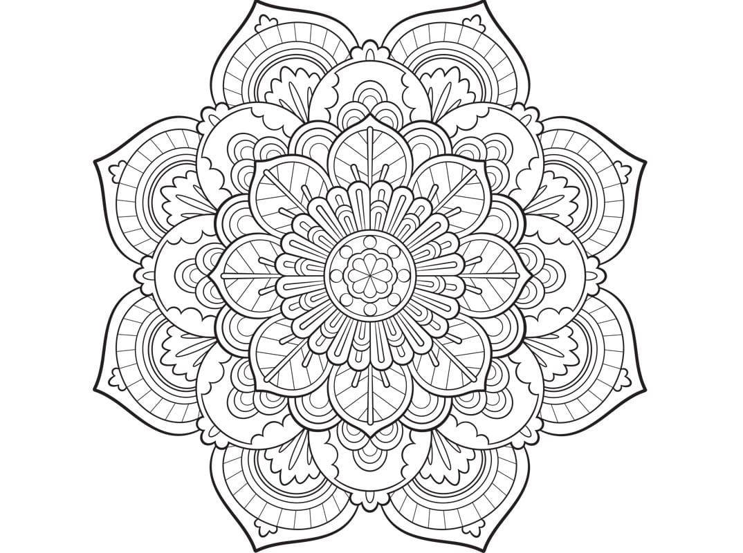 Zum mandala ausmalen frauen Mandalas Für
