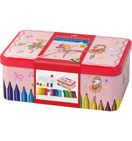 Faber-Castell - Connector Filzstift- Set Ballerina, 45-teilig