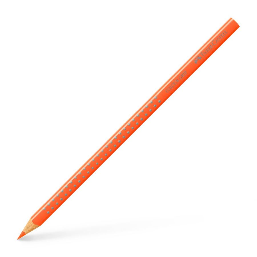 Faber-Castell - Colour Grip Buntstift, orange neon
