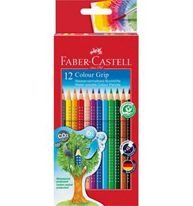 Faber-Castell - Buntstift Colour Grip 12er Kartonetui