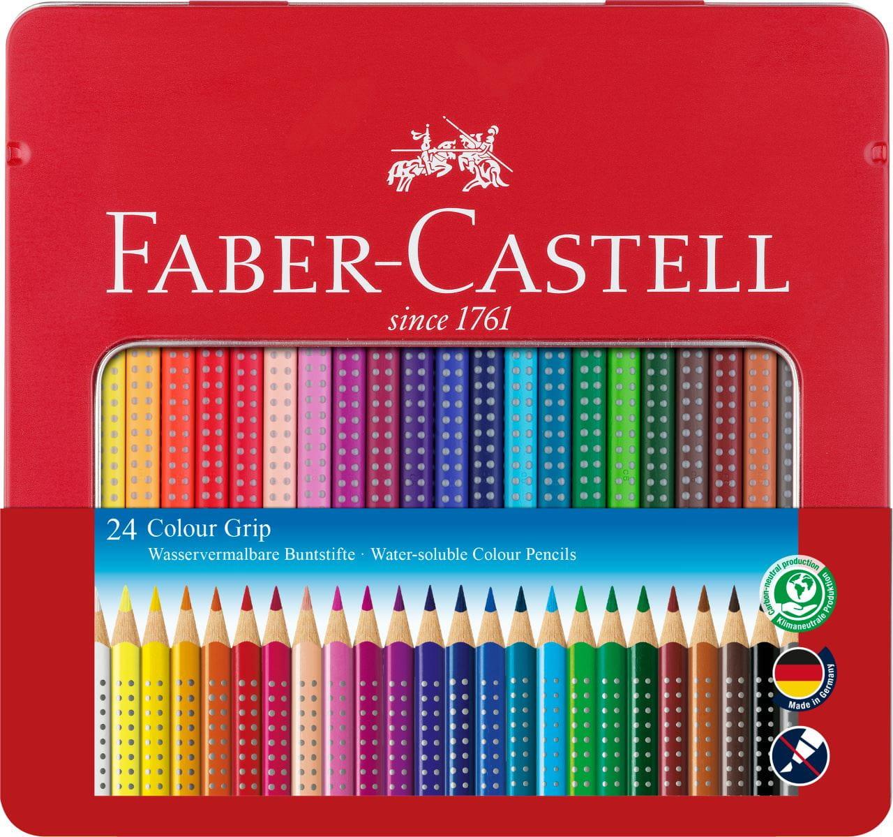 FABER-CASTELL Buntstifte KINDER AQUARELL 12er Kartonetui