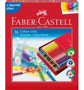 Faber-Castell - Buntstift Colour Grip 36er Atelierbox