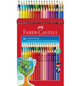 Faber-Castell - Buntstift Colour Grip 36er Kartonetui