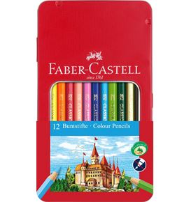 Faber-Castell - Classic Colour Buntstift, 12er Metalletui