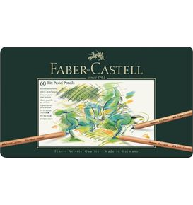Faber-Castell - Pitt Pastellstift, 60er Metalletui