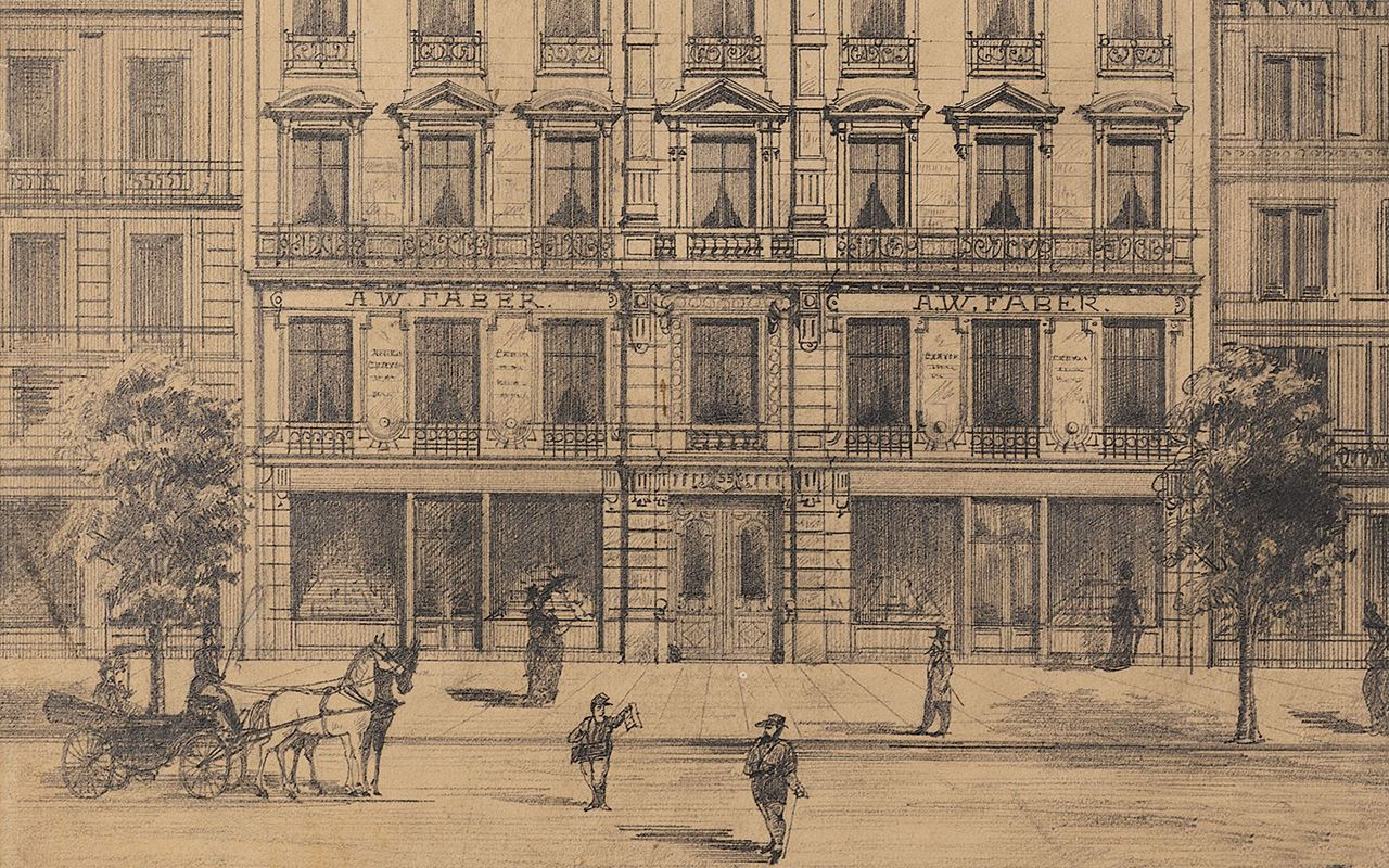 1855 Niederlassung in Paris